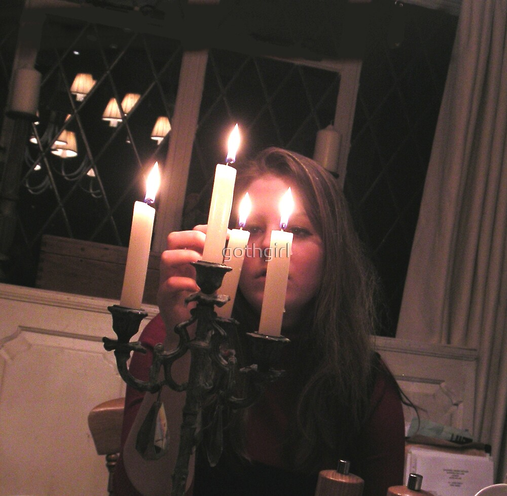 Lighting of the Candles by gothgirl