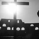 Cross in Colosseum by Lisa Trainer