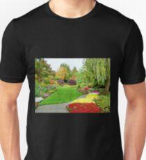 Pathway in Butchart Gardens T-Shirt