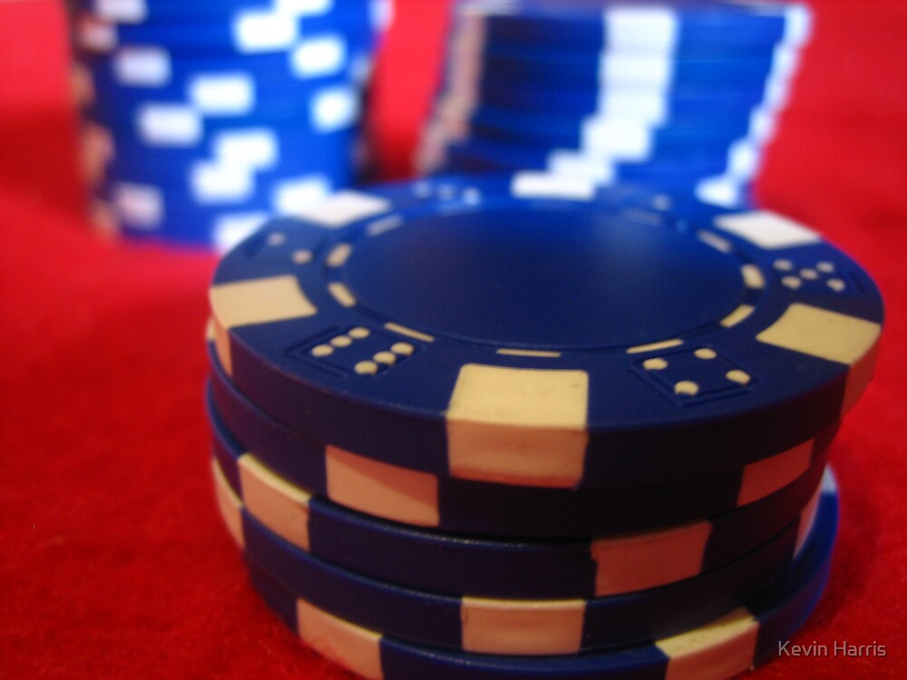 poker chips 2 by Kevin Harris