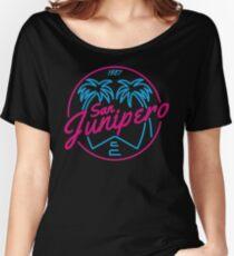 Black Mirror San Junipero NEON Women's Relaxed Fit T-Shirt
