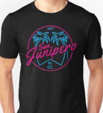 Black Mirror San Junipero NEON T-Shirt