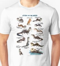 Otters of the World Unisex T-Shirt
