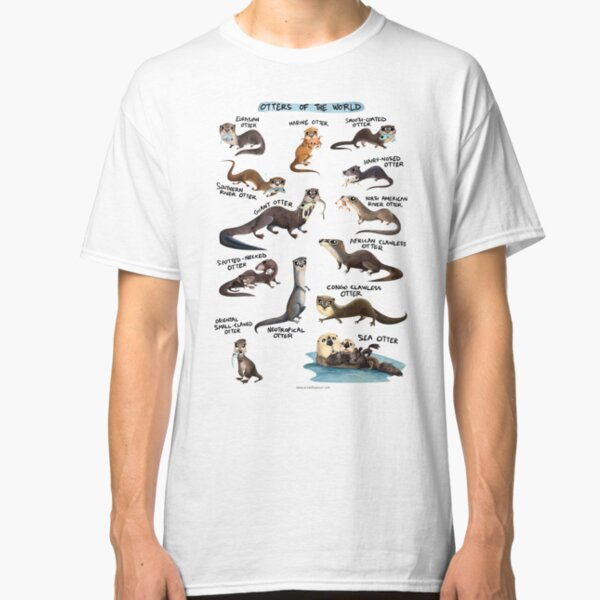 Otters of the World Classic T-Shirt