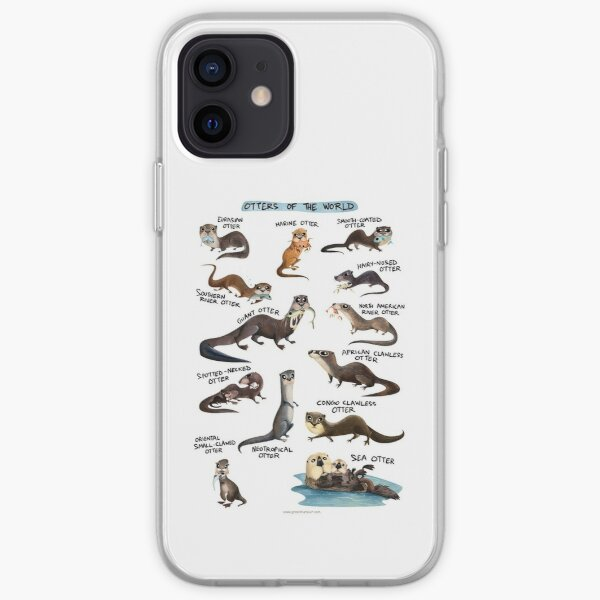 Otters of the World iPhone Soft Case