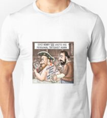 Henry VIII Tattoos Unisex T-Shirt