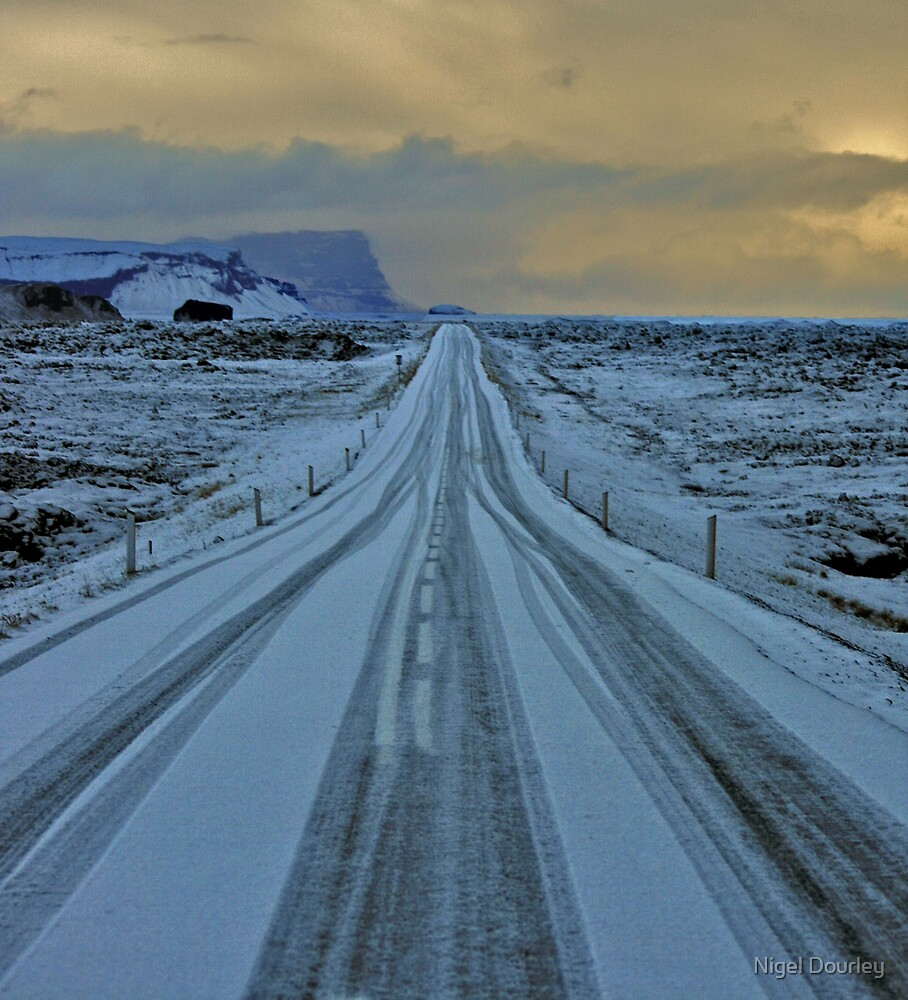 Iceland Road 1 by Nigel Dourley
