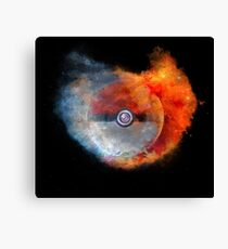Pokemon water vs fire Canvas Print