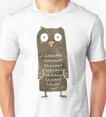 retro cartoon owl Unisex T-Shirt
