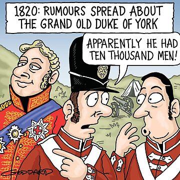 Grand Old Duke of York by goddardcartoons