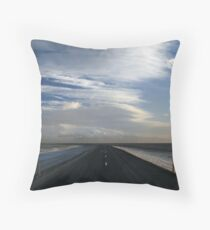 Road 1, East Throw Pillow