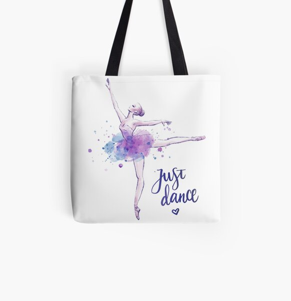 Just Dance All Over Print Tote Bag