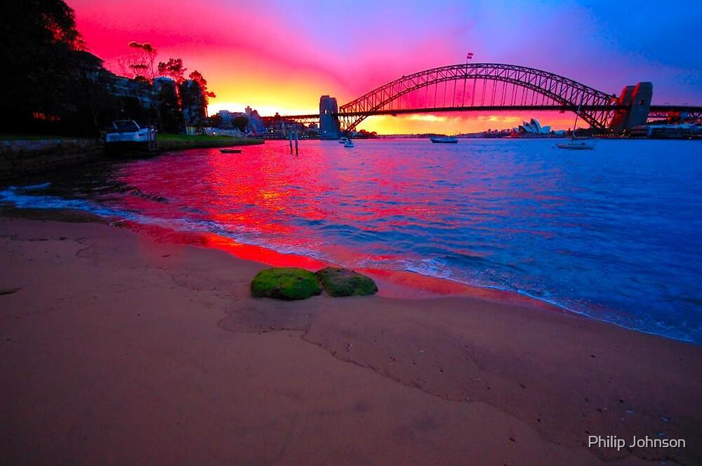 New Start,Sydney Harbour, Sydney Australia by Philip Johnson