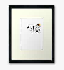 Anti hero skateboard eagle Framed Print