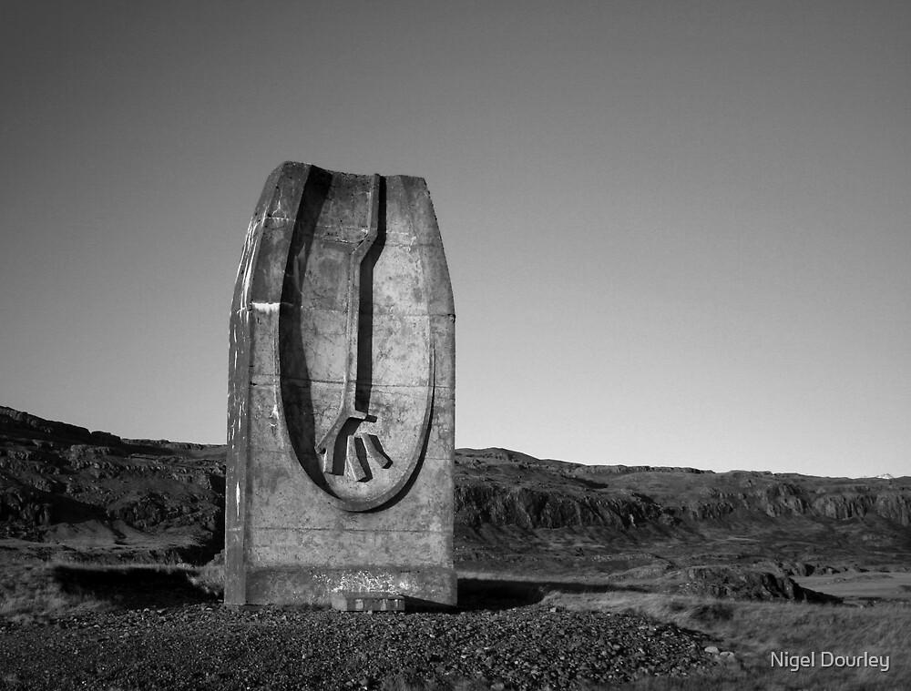 Monument to Jon Eiriksson by Nigel Dourley