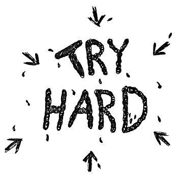 ↳ try hard ↵ by iconiclana