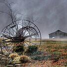 Foggy Dawn by Robert Burns Miller