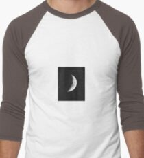 Moon and the Stars Men's Baseball ¾ T-Shirt