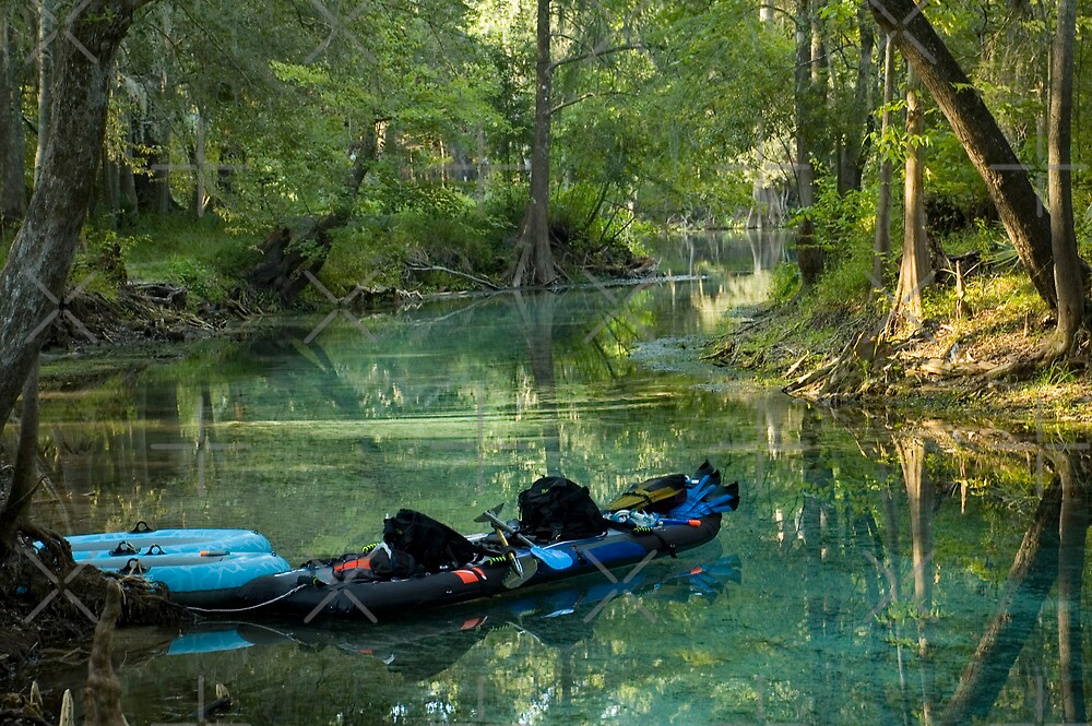 Kayak in the Spring by Stacey Lynn Payne