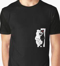Oso blanco y negro Graphic T-Shirt