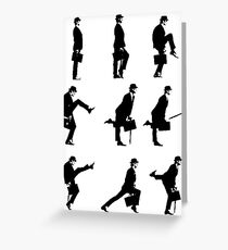 Ministry of Silly Walks Greeting Card