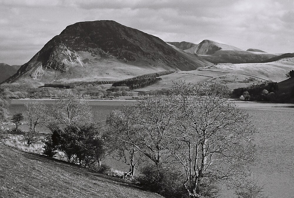 Lake, Trees & Mountains, Cumbria, U.K. by Shadowfax