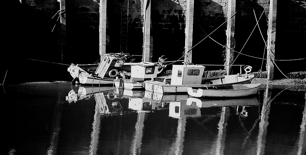 Low Tide In Harbor by Shadowfax