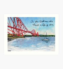 On the Northern Side There's a Fife of Mine Art Print