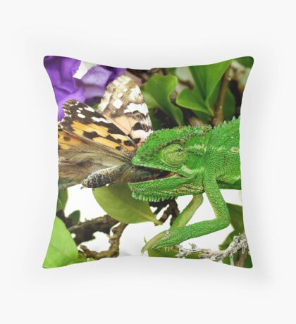 Mouthful Throw Pillow