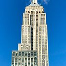 Empire State Building by Christine  Wilson