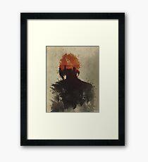 Human Raw Material Framed Print