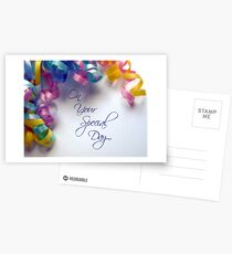 Your Special Day Postcards
