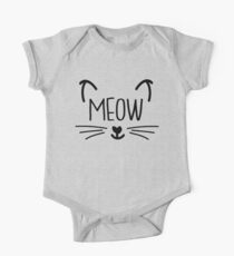 Meow Cat One Piece - Short Sleeve