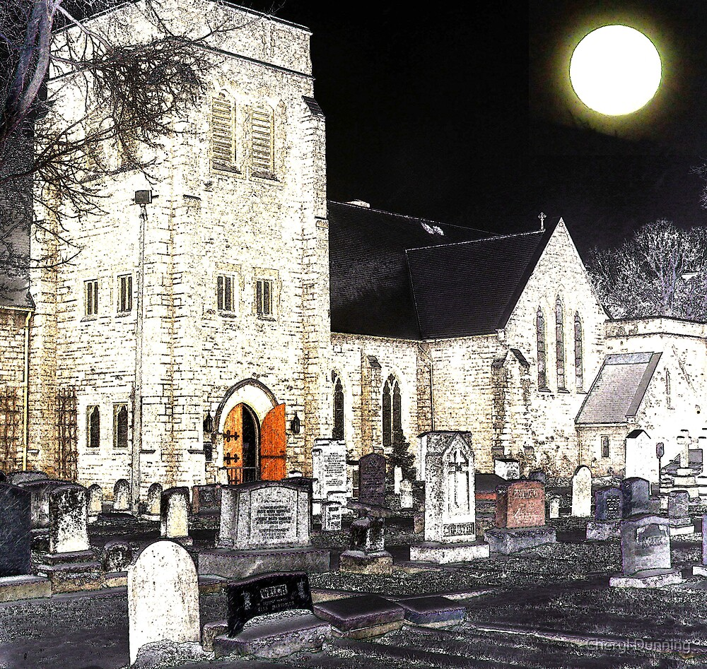 enter into the church - drawn by Cheryl Dunning
