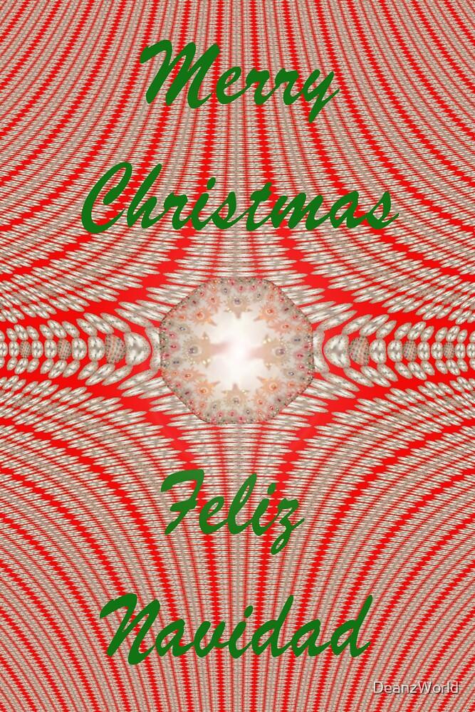 Merry Christmas - Feliz Navidad by DeanzWorld