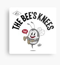 THE BEE'S KNEES Metal Print