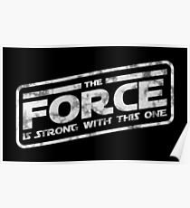 Star Wars - The Force Is Strong With This One Darkside Poster