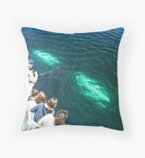 A Whale of a Tale!!!  part 1, please read in order! Throw Pillow