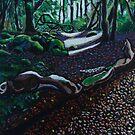 fallen tree by Ronan Crowley