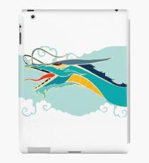 Cyan dragon iPad Case/Skin