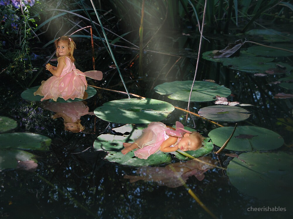 Enchanted Pond by cheerishables