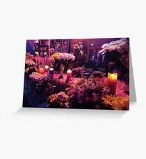 Mexicola Florist Mob Greeting Card