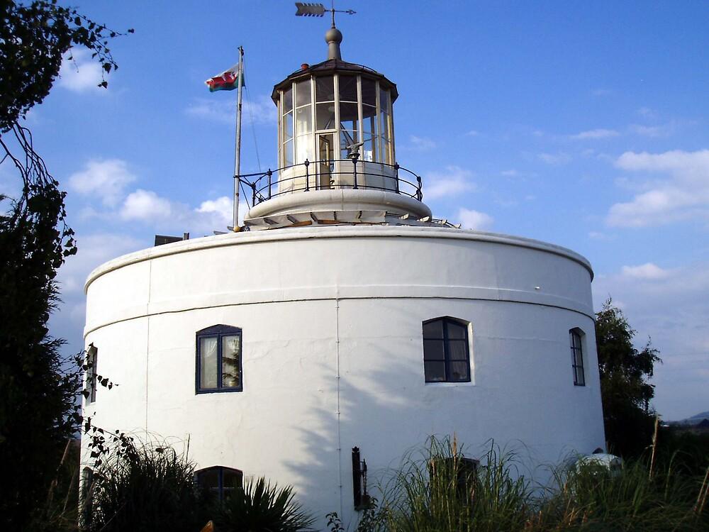 Joy's  West Usk Lighthouse by Danielle  Sheahan
