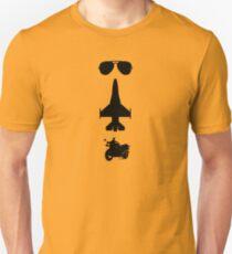 TOPGUN theme - vertical Unisex T-Shirt