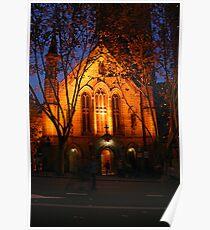 Church at Night Poster