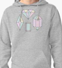 Crystal Diamond Pullover Hoodie