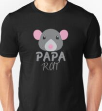 PAPA RAT (with matching Mama Rat and Baby Rat) Unisex T-Shirt