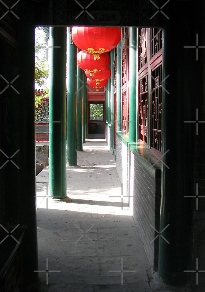 Lanterns in the Doorway by KLiu
