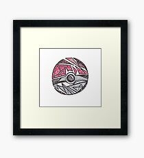 Abstract Ball Framed Print