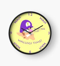 Waluigi Time! Clock